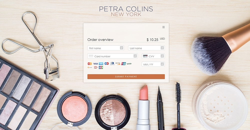 Paymentpage Petra Colins New York Beauty