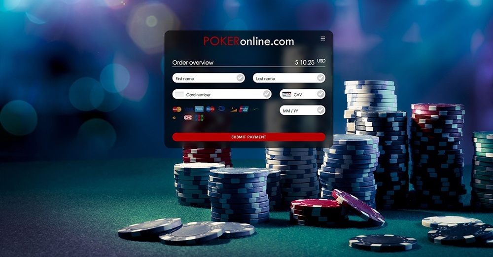 Paymentpage Poker Online