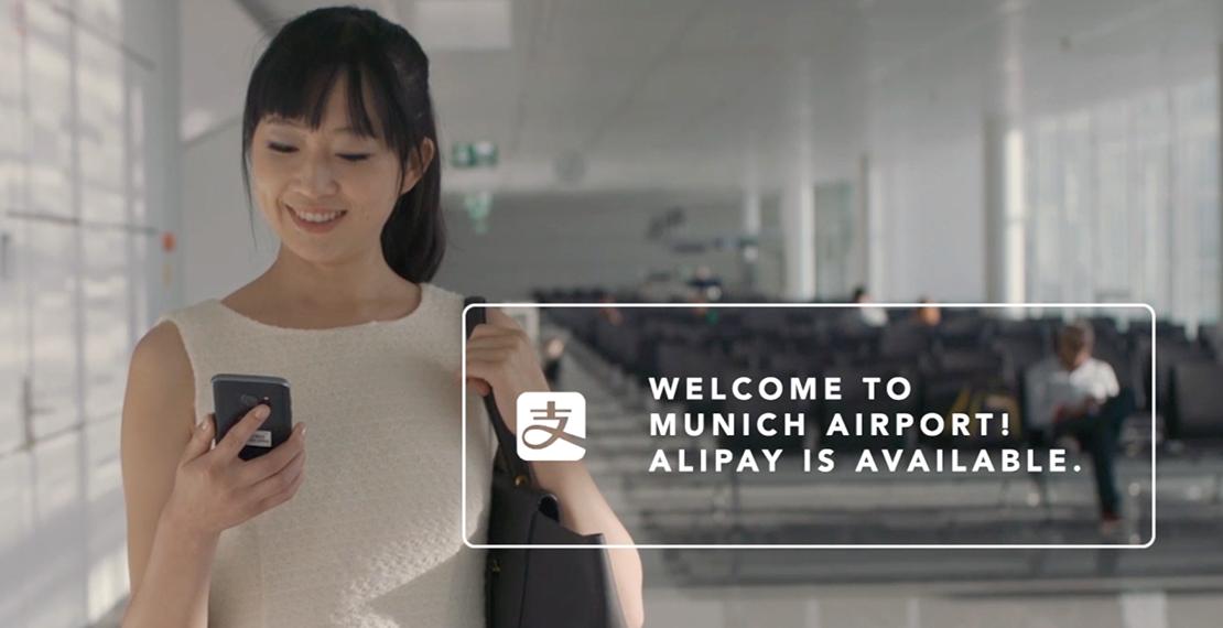 Alipay Flughafen Muenchen