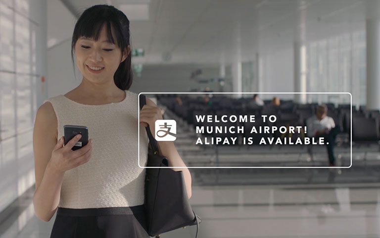 Alipay at Munich Airport – Wirecard enables the acceptance of China's favorite mobile payment solution